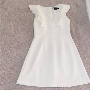 French Connection White Dress Size 4